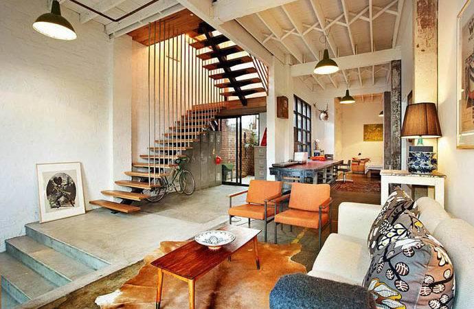Sale New York Style Warehouse Conversion Melbourne Designrulz