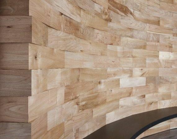 Salvaged Wood Feature Wall Meyer Wells Contemporist