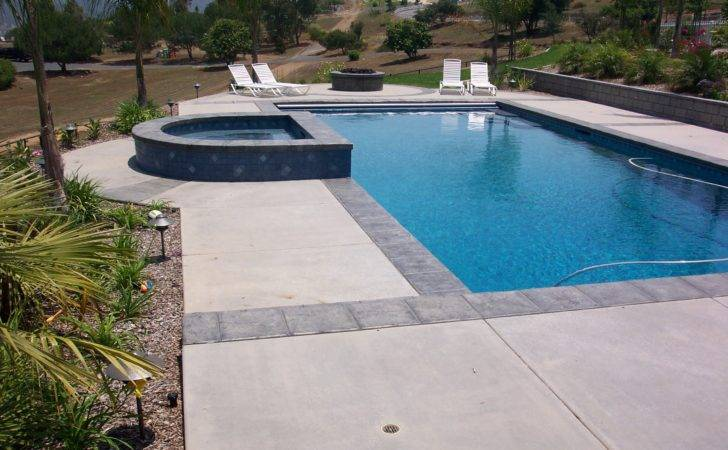 San Diego Pool Deck Concrete Custom Design