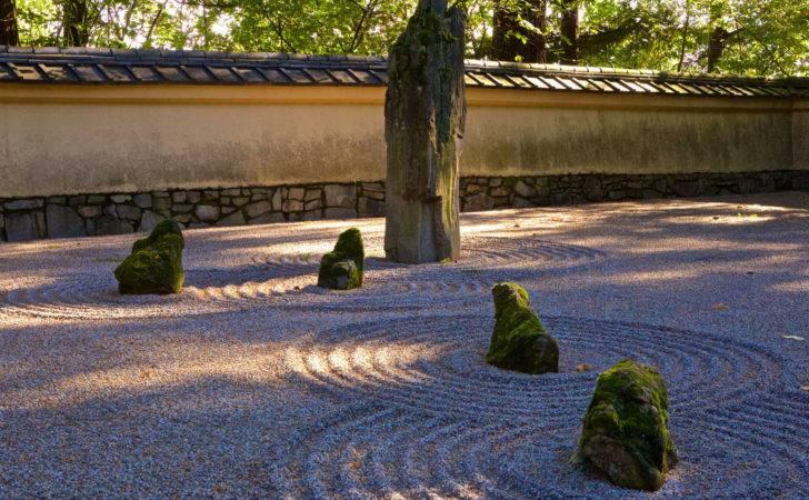 Sand Stone Garden Portland Japanese