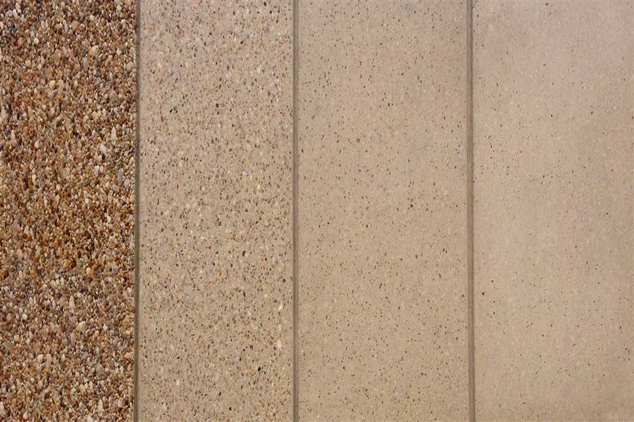 Sandblast Exposed Aggregate Universal Concrete Products