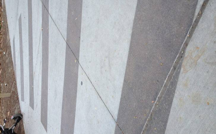 Sandblasted Concrete Stripes Paving Pinterest
