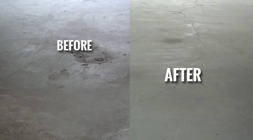 Sandblasting Concrete Restoration Residential