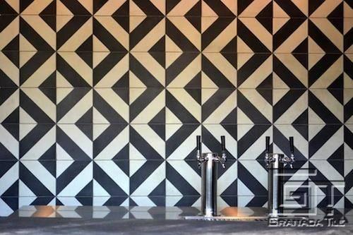 Santander Bar Back Splash Tiles New Barbeque Joint