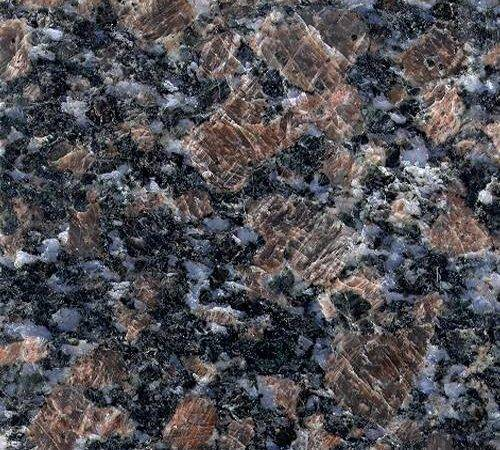 Sapphire Blue Granite Brown