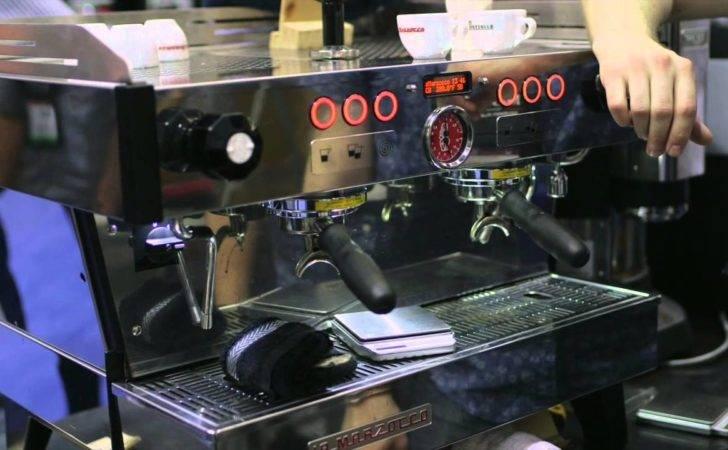 Scaa Marzocco Linea Espresso Machine Youtube