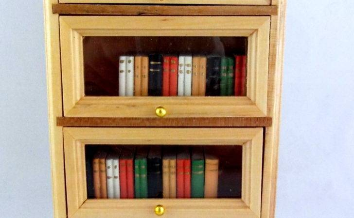 Scale Wooden Comes Books Doors Lift Push Back