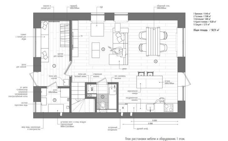 Scandinavian Aesthetics Industrial Elements Includes Floor Plans