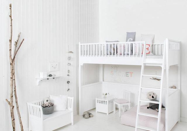 Scandinavian Children Bedroom Lifestyle Kids