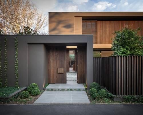 Scandinavian Exterior Doors Sidelights Home Design Photos Decor