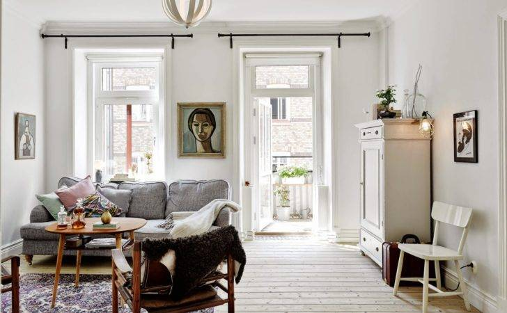 Scandinavian Home Lovely Gothenburg Apartment Eclectic