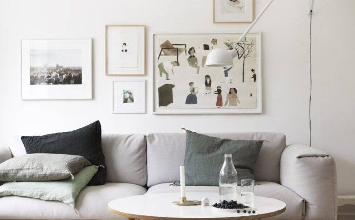 Scandinavian Living Room Muuto Sofa Flos Lamp Petra Bindel