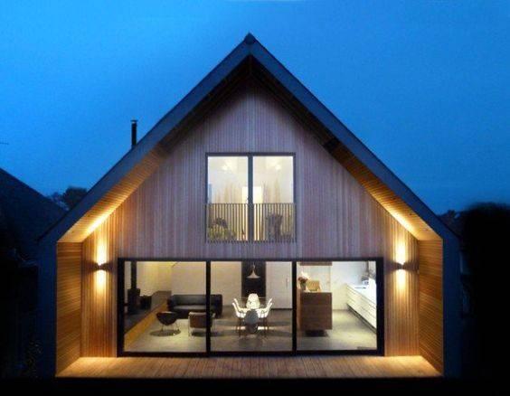 Scandinavian Nordic Exteriors Home Modern House