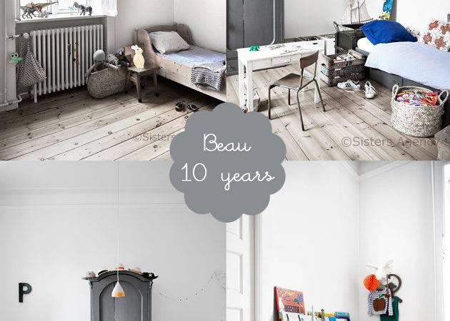 Scandinavian Shared Boys Bedroom Beau Room Bloom