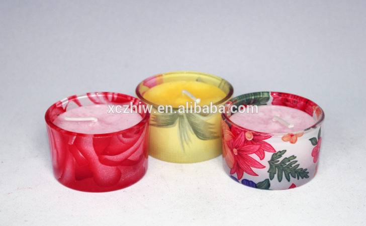 Scented Candles Colorful Containers Buy Bulk