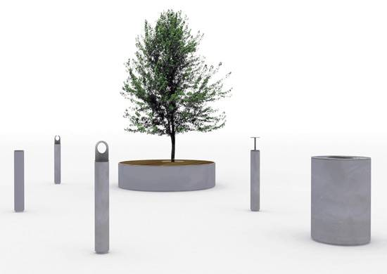 Schmidt Hammer Lassen Design Solid Urban Furniture
