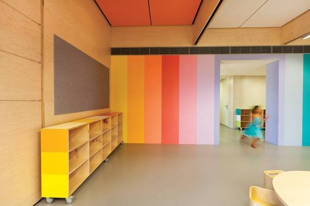 School Jsracs Kindergarten Beechboro Campus Brooking Design