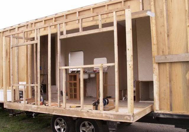 Scractch Literally Diy Tiny House Trailers