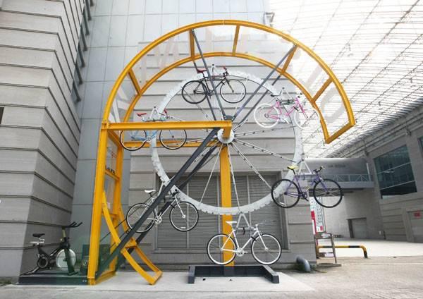 Scrapbook Manifesto Architecture Bike Hanger