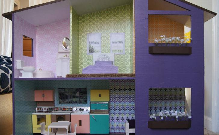 Scratch Inch Scale Doll House Plans Dollhousedesigns