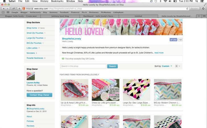 Screenshot Storefront Looks Like Etsy