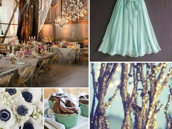 Seafoam Green Purple Wedding Done