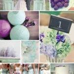 Seafoam Purple Wedding Colors