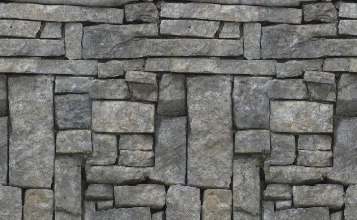 Seamless Texture Stone Wall Materials Pinterest