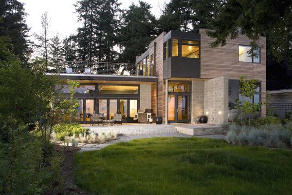 Seattle Modern Sustainable Home Building Design
