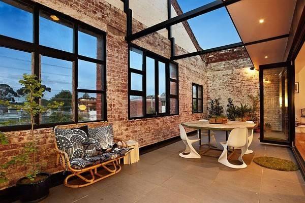 Second Floor Living Area Loft Styled Melbourne Home Decoist