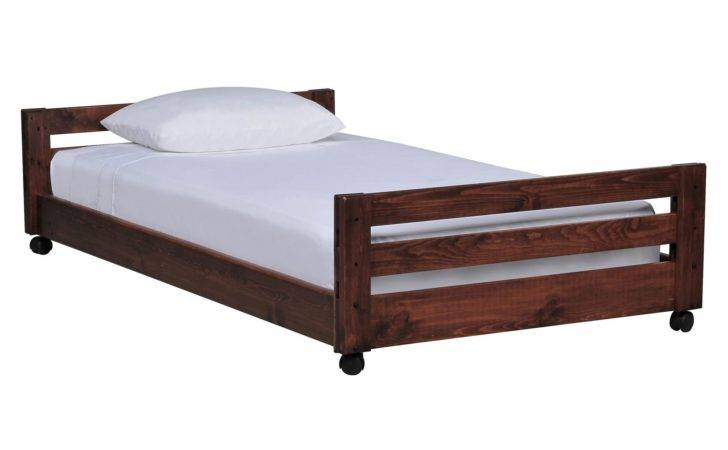 Sedona Twin Caster Bed Living Spaces