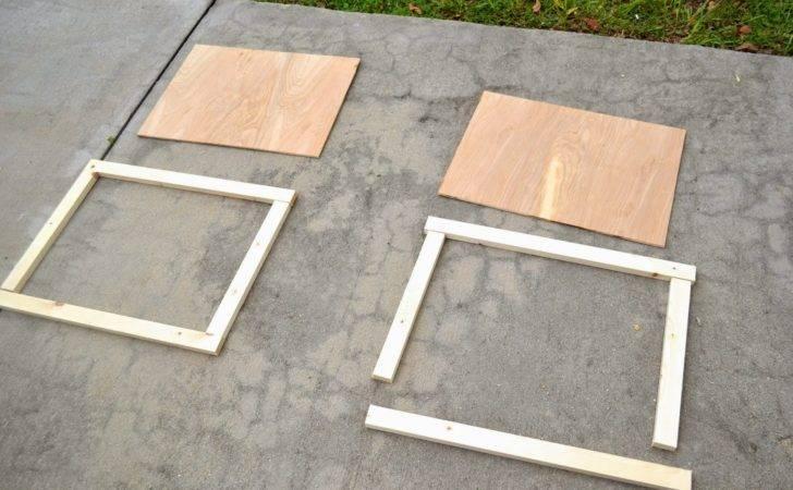 Seesaws Sawhorses Diy Simple Cabinet Doors