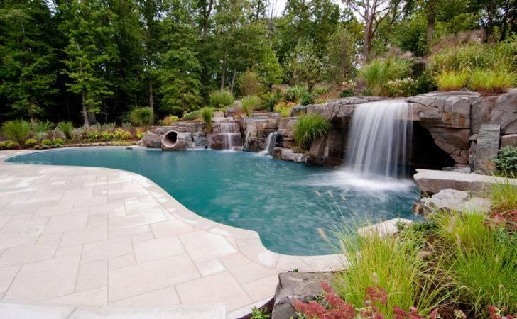 Semi Inground Pool Design Ideas Best House