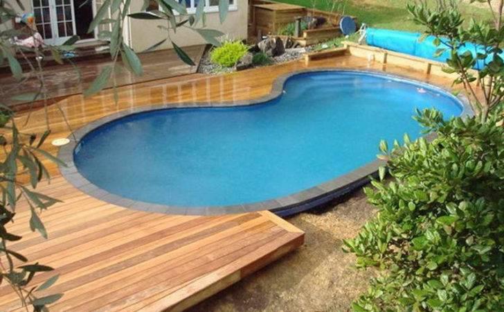 Semi Inground Pool Ideas Deck Pools