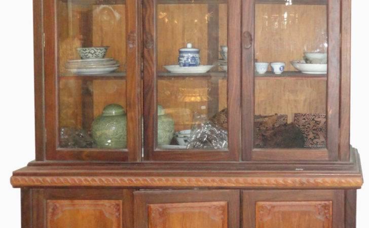 Semi Modern Display Cabinet