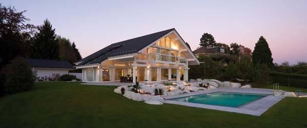 Sensational Luxury Prefab Homes Ground Pool Design Finished