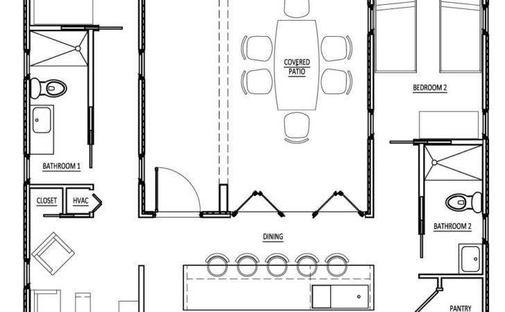 Sense Simplicity Shipping Container Homes