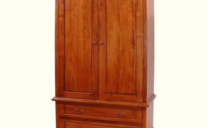 Serata Teak Wardrobe Balikpapan Furniture Showroom Best Custom