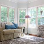 Serene Sunroom Eclectic Home Office Birmingham Unskinny