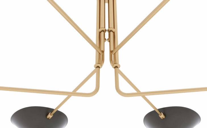 Serge Mouille Ceiling Lamp Arms Models Cgtrader