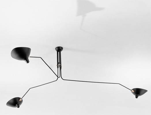 Serge Mouille Ceiling Lamp Mcl Copy Cat Chic