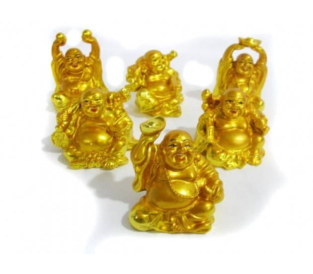 Set Laughing Buddha Big Feng Shui