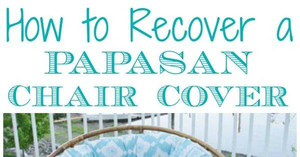 Sew Diy Papasan Chair Cover Chairs Zippers