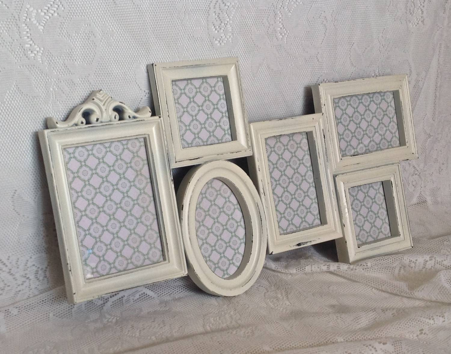 Shabby Chic Frame Collage Large White Wall