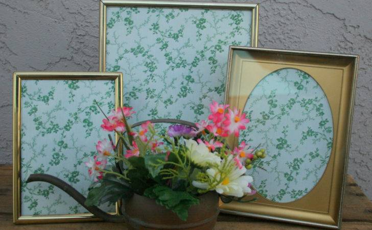 Shabby Chic Frame Collage Wall Cluster Decor Vintage Print