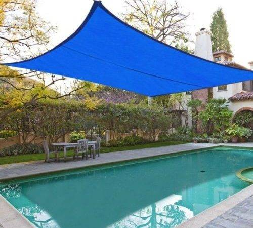 Shade Sail Top Outdoor Canopy Patio Lawn Square Rectangle Ebay
