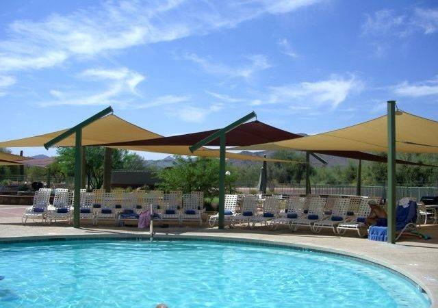Shade Sails Structures Canopies Pool Shades