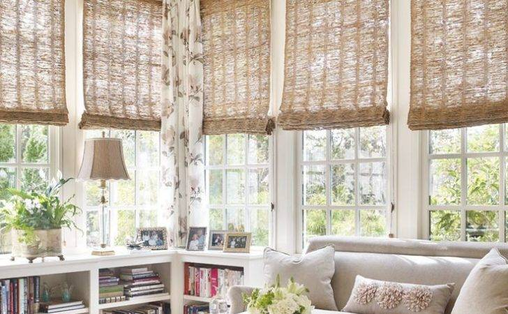 Shades Pinterest Woven Blinds Sunroom Bamboo