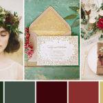 Shades Season Winter Wedding Colour Palette
