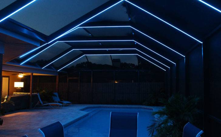 Shadow Caster Led Lighting Systems Pool Patio Enclosures